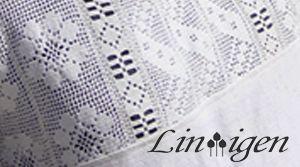 Lin-igen  består av handsydda plagg, tunikor, jackor och västar av lin och denim och andra textila arbeten som väskor, kuddar, överkast och vägghängen. Försäljning sker vid mässor, på utställningar och via hemsidan.