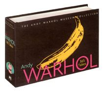 """""""365 Takes:The Andy Warhol Museum Collection"""" Illustrated with almost 400 objects, from paintings to party invitations, the volume also features lively commentaries by the museum's staff as well as quotes from Warhol's own irreverent writings. Hardcover, 744 pages, Measures 9 1/4"""" x 6 1/4"""""""