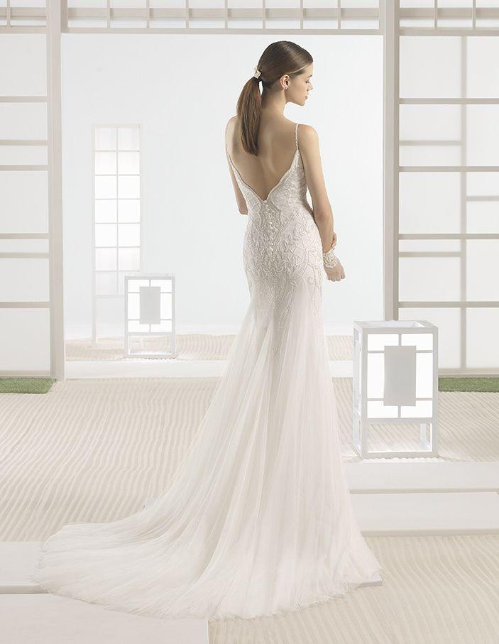Robe de Mariée WIRE de la marque SOFT BY ROSA CLARÁ disponible à Nice à la boutique NICEA MARIAGE