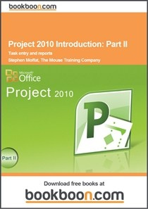 In Project 2010 there is a marked change in the way that Project calculates the tasks. There is now an option that decides whether you may (By default) have automatic or manual scheduling for your tasks. In the chapter about task entry in project 2010 the various methods of task entry are explained.