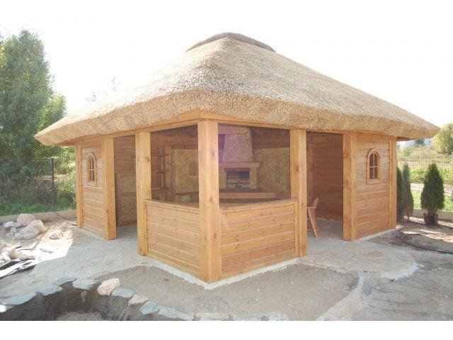 Piękna altanka z drewna sosnowego. Montaż na terenie całego kraju GRATIS.  http://www.sklep.gardenplanet.pl/pl/altany-kryte-strzecha/product_details/3811/170/altana_kryta_strzecha_s30.html