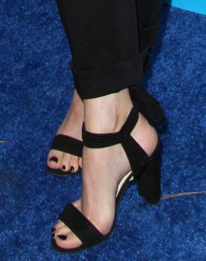 Dakota Johnson in Jimmy Choo sandals