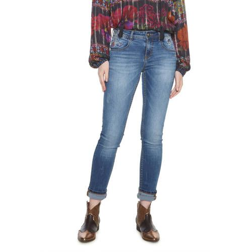 Fit Desigual Jeans 2019Products Met In Slim Borduursels rBeCoWdx