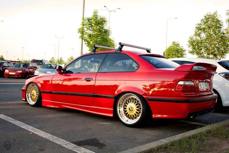 hellrot bmw e36 coupe on oem bmw styling 5 a k a bbs rc. Black Bedroom Furniture Sets. Home Design Ideas