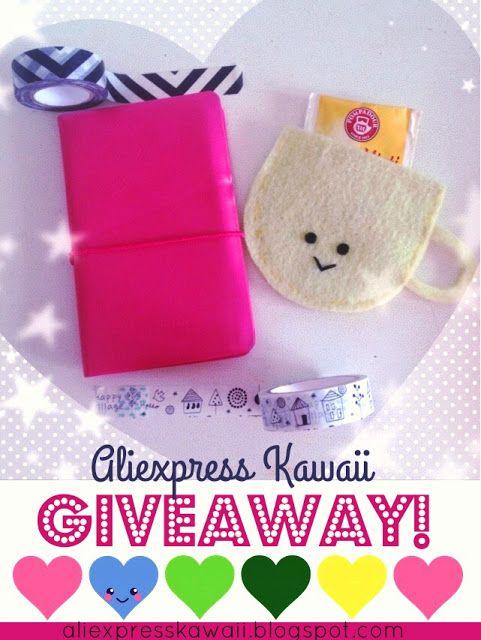 Aliexpress Kawaii Shopping: Giveaway Time!!!