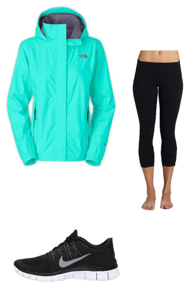 """Rainy Saturdays"" by alireb ❤ liked on Polyvore featuring The North Face, Beyond Yoga and NIKE"