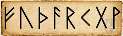 Runas - Fehu - Alfabeto Rúnico Futhark