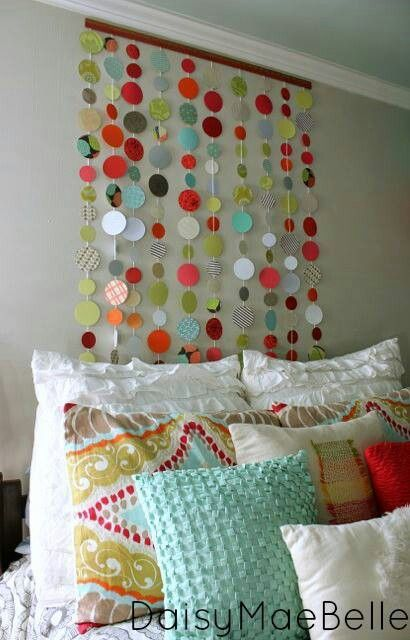 Craft... perfect to brighten up an apartment you cannot paint!