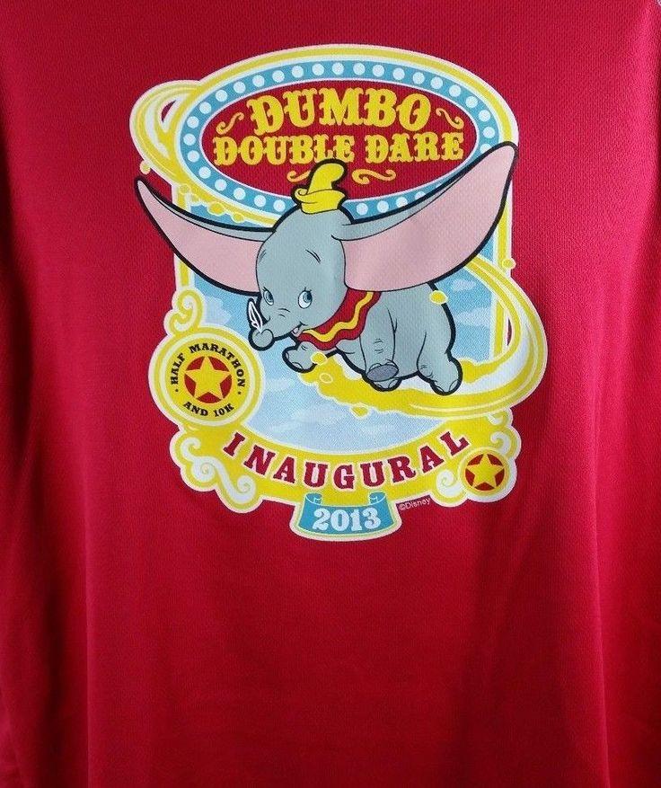 #forsale Dumbo Double Dare Disneyland Marathon 10k Jersey L Champion #Champion #Jerseys