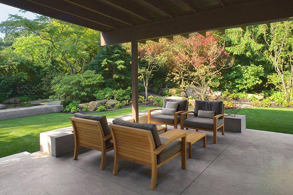 Terrazza Dettagli Rilassante casa con incantevoli naturali Dettagli a Washington
