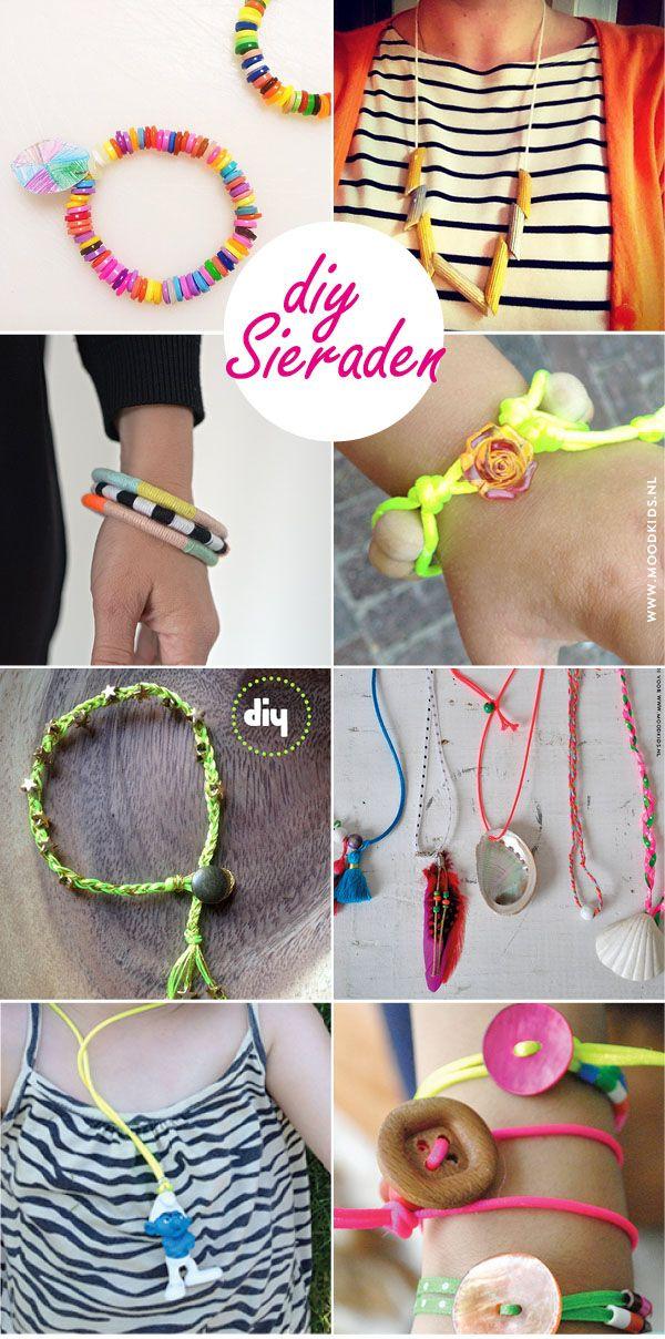 De leukste DIY sieraden voor kinderen - Moodkids : Moodkids