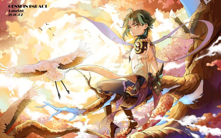 橖诗TangShi on Twitter Impact, Character art, Wallpaper