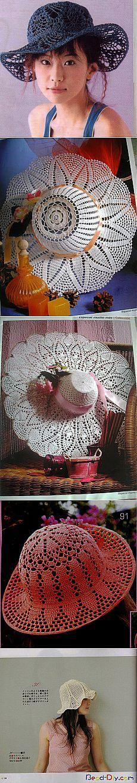 вязание крючком милой кружево летние шляпы, вязаные структуры | сделать своими руками, вязание крючком, Ремесла