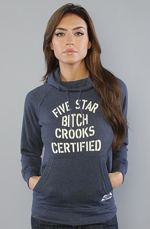 The Certified Hoodie in Navy  Crooks and Castles  $29.99  Retail: $88.00  (66% OFF)