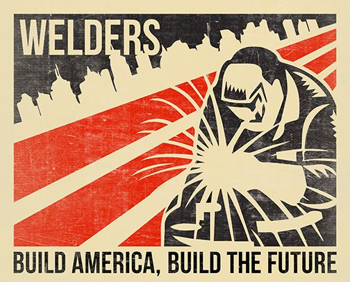 wpa poster welding - Google Search | Badass Women ...