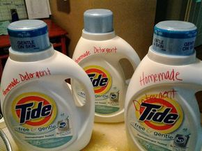 Sweet Song Bird: Pioneer Wife 101--Homemade Laundry Detergent