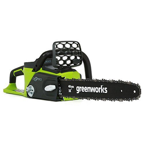 Greenworks Tools 20077 DigiPro Brushless Battery Powered Chainsaw