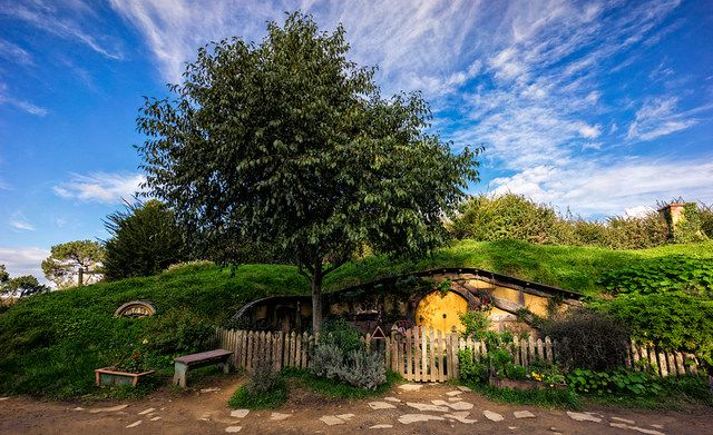 Hobbiton Waikato New Zealand
