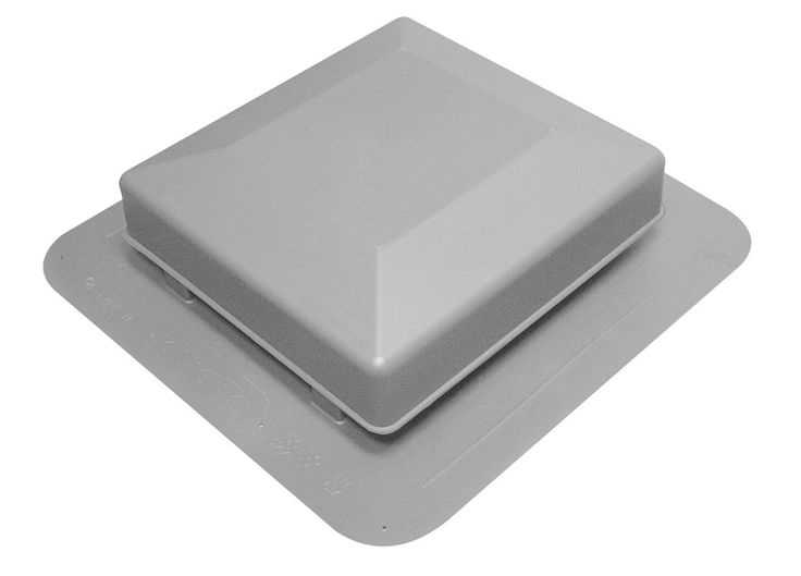 Duraflo 6075G Roof Vent, 75 Square Inch, Grey * Read more reviews of the product by visiting the link on the image.