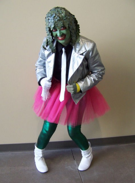 @Jamie Bailey - if you are the spirit of jazz, I will go as Old Gregg! I will put a flashlight between my legs....hahahahaha!