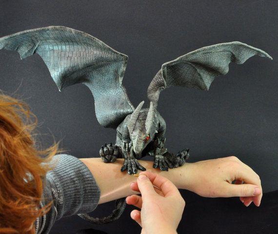Pet Dragon Up for Adoption by MaddingtonBear on Etsy