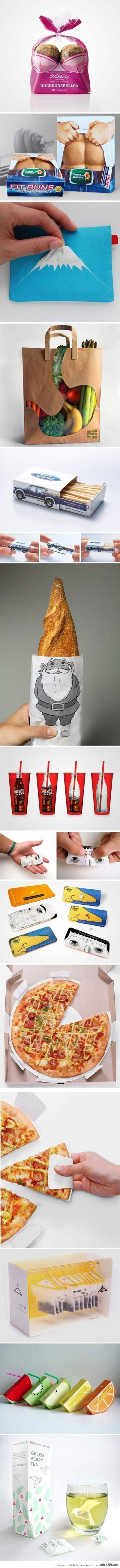 Clever Packaging Design