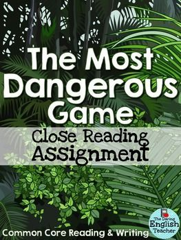 Factors of suspense in the most dangerous game essay