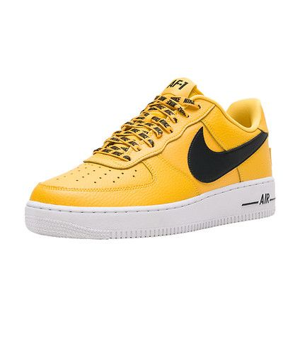half off aa385 082f3 NIKE Air Force 1  07 LV8 NBA Men s low top sneaker All over Nike  embroidered laces Premium leather upper Perforated toe box Neoprene tongue  NBA tag Rubber ...