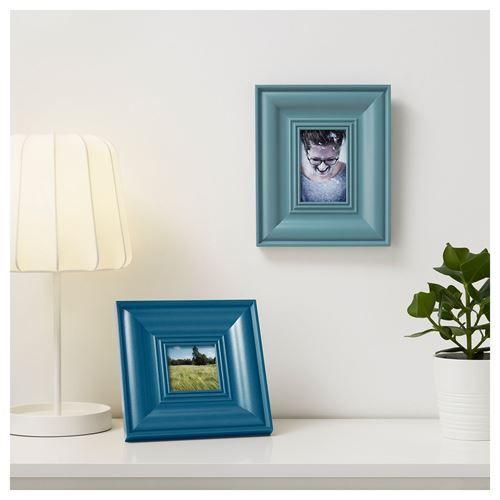 SKATTEBY çerçeve mavi 10x10 cm | IKEA Ev Dekorasyonu