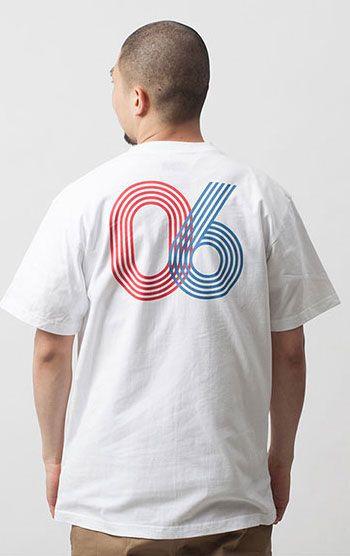 운동장 트랙을 연상시키는 브라운브레스의 반팔 티셔츠 모델 174cm / 66kg / L size