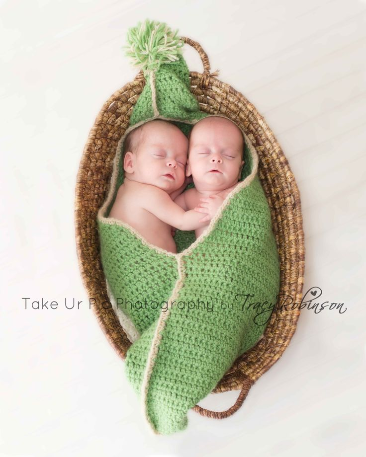 Pea pod twins