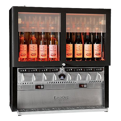 EuroCave Vin Au Verre VOV3E Wine Preserver and Dispenser at Wine Enthusiast - $11995.00
