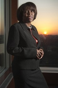 Ertharin Cousin has been involved in food and hunger issues through nonprofit, government, and corporate means for 25 years. She acted as the White House Liaison to the State Department, before being appointed to the Board for International Food and Agricultural Development. In 2009 she was nominated by President Obama to be the U. S. Ambassador to the United Nations Agencies for Food and Agriculture, encouraging sustainable plans to allow aid and development in crisis,