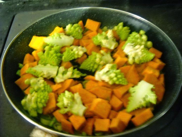 Pentole e vecchi merletti: Crostata insolita di zucca e cime di broccolo