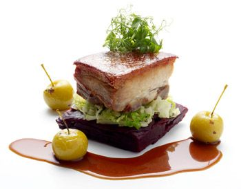 62 best creative entree images on pinterest creative for Fine dining gourmet recipes
