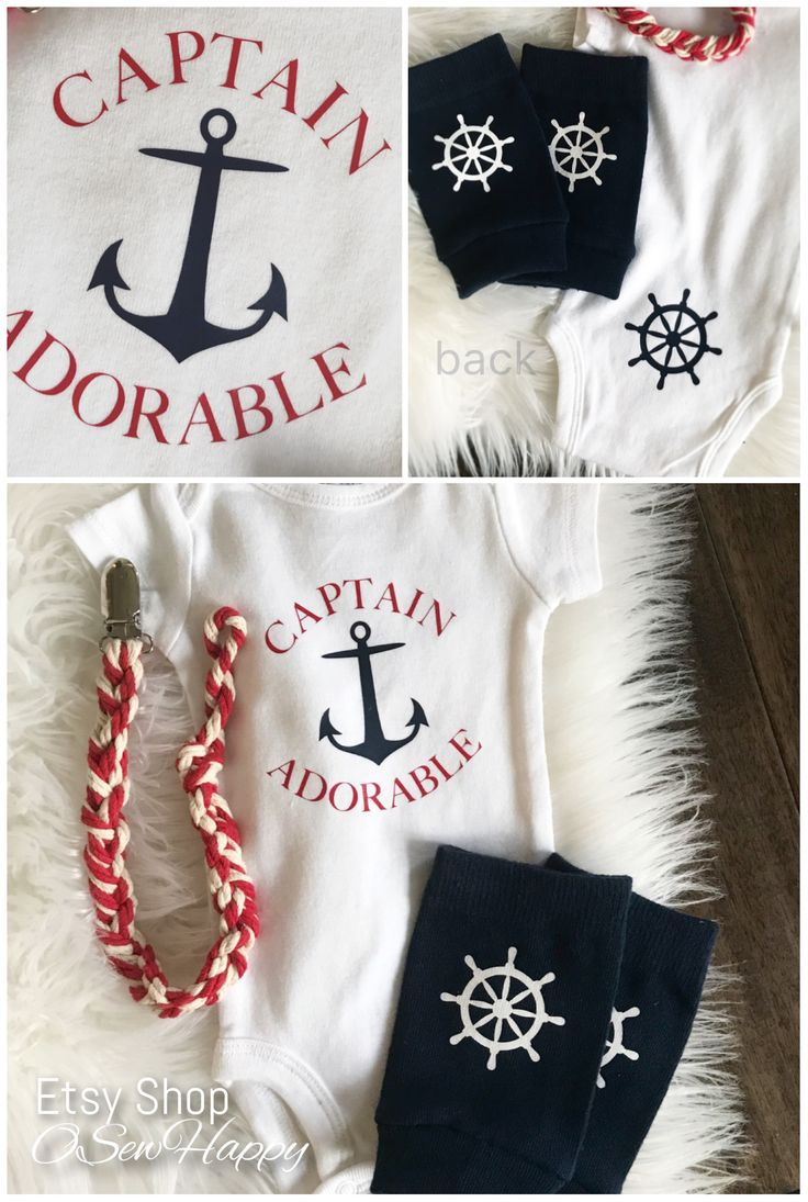Ahoy It's a Boy Baby Shower Nautical Baby Shower  nautical theme nautical baby captain adorable  Baby legs Baby onsie set