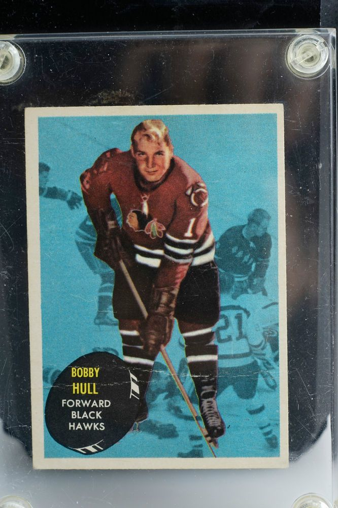 Nhl Bobby Hull #Chicago Black Hawks (29) Rookie Card 1961 Tcg Canada from $44.95