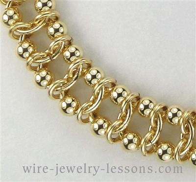 Calypso Bracelet (Chain Maille) Tutorial $3.00