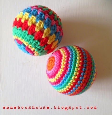 crochet balls tutorial