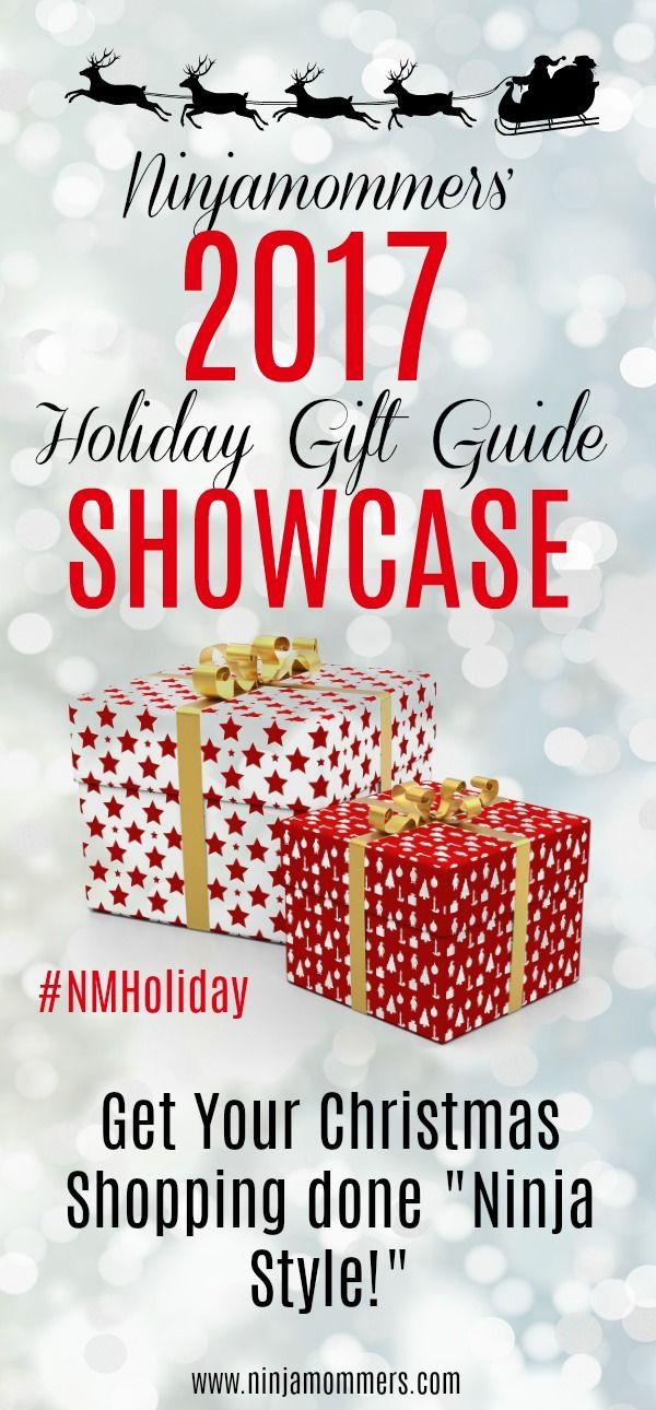 Visit Ninjamommers' #HolidayGiftGuide and check out the awesome gift ideas and AMAZING GIVEAWAYS! #NMHoliday