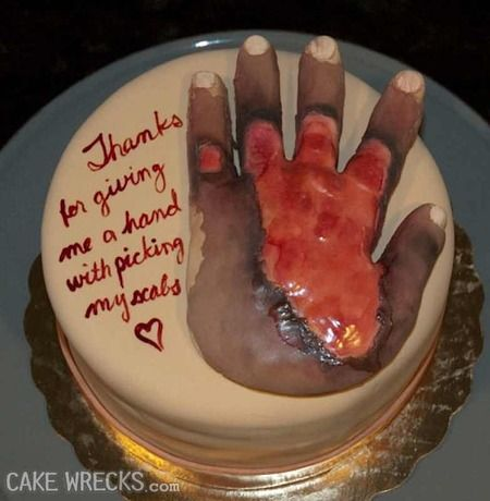 Birthday Cake In Butthole