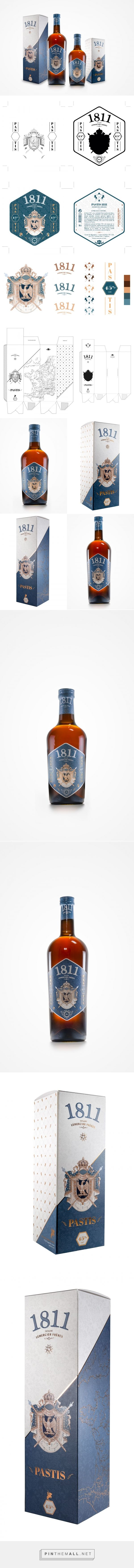 Pastis 1811- Packaging of the World - Creative Package Design Gallery - http://www.packagingoftheworld.com/2017/01/pastis-1811.html