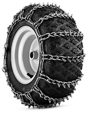 Slick driving? Tire chains sold at W.W. FRIEDLINE INC