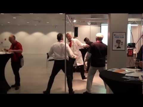 EuroSTAR 2012 Test Lab Team Party Gangnam Style!!!