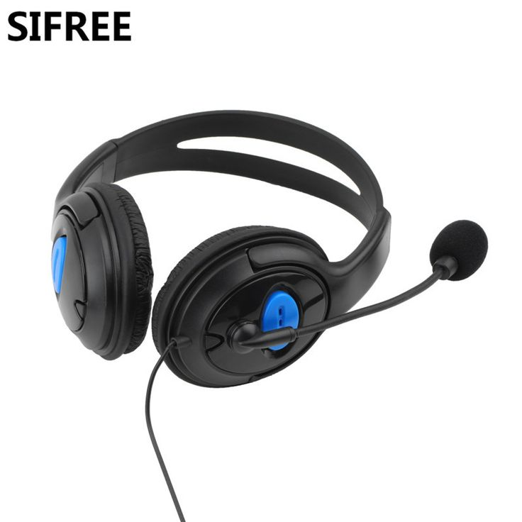 Newest SIFREE Wired Gaming Headset Headphones Game Earphones with Microphone Stereo Supper Bass for PS4  for PlayStation Gamers  #Affiliate