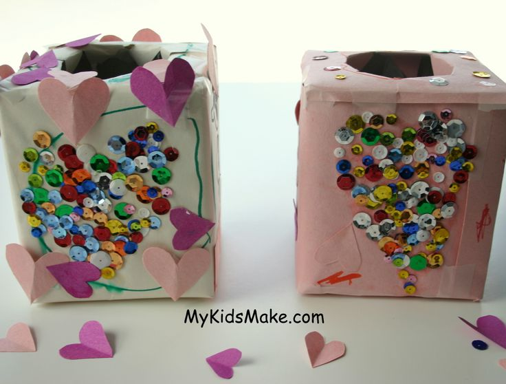 Need to make a Valentine mailbox for the son's Valentine's party at school. This is adorable!