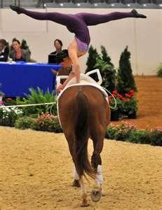 Alltech FEI World Equestrian Games: 2006 WEG Vaulting Gold Medalist ...