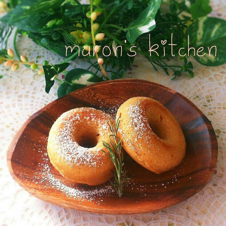 美レシピ♡きな粉のお豆腐焼きドーナツ by ♪♪maron♪♪