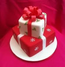 Christmas Presents Cake