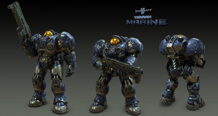 Marine- Starcraft 2